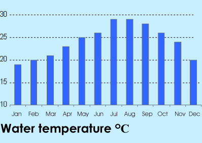 Sharm el Sheikh water temperature